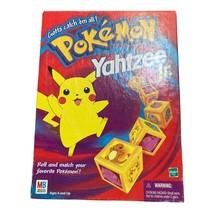 Pokemon Yahtzee Jr Board Game Complete 1999 Milton Bradley.  - $15.84