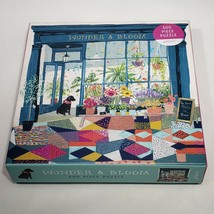 Galison Wonder & Bloom Jigsaw Puzzle 500 Pieces Includes Image Photo Com... - $10.00
