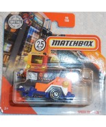 """Matchbox 2020 """"Speed Trapper"""" MBX City #98/100 GKM31 Mint On Sealed Card - $3.00"""