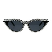 Fancy Rhinestone Sunglasses Womens Blinged Out Cateye Shades UV 400 - $13.45