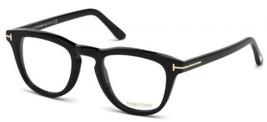 Authentic Tom Ford Eyeglasses TF5488B 001 Black Frames 49MM Rx-ABLE - $187.10