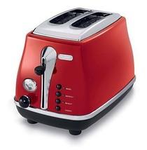 Delonghi CTO2003R Icona Toaster, Red  - $147.71
