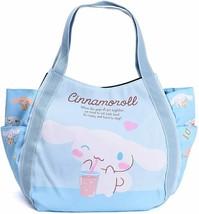 Sanrio Cinnamoroll Light Blue Diaper Bag Big Balloon Tote Japan New w/ T... - $56.10