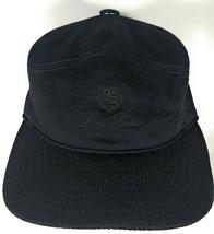 Loro Piana 100% Cashmere Unisex Hat Cap Black L Large - $233.71