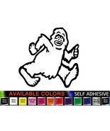 Funny Yeti Monster Vinyl Sticker, Skoda Yeti Car Decal All Models, Fit Any Car - $6.11