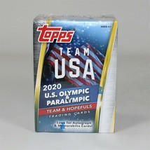 Topps Team USA 2020 U.S. Olympic and Paralympic Team Trading Cards Blaster Box - $20.89