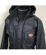 Harley Davidson Jacket Rain Waterproof PVC Coated Biker Motorcycle Racin... - $71.99