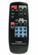 Canon WL-D72 Factory Original Digital Camcorder Remote Control For Ultura - $12.19