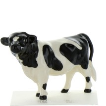 Hagen Renaker Farm Cow Holstein Bull Ceramic Figurine