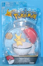 Pokemon 2 inch Clip N Carry Poke Ball Action Figure with Repeat Ball Pik... - $10.84