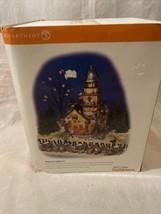 Dept 56 Snow Village Halloween Shipwreck Lighthouse Decoration 55088 - $87.99