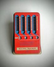 Adding Machine Antique Tin Metal Toy Collectible Toys Retro Adding Machi... - $25.00