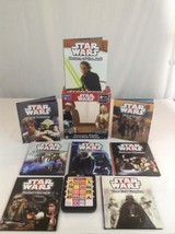 Stars Wars Me Reader Electronic Reader With 8 Books Tested & Working Rea... - $20.56