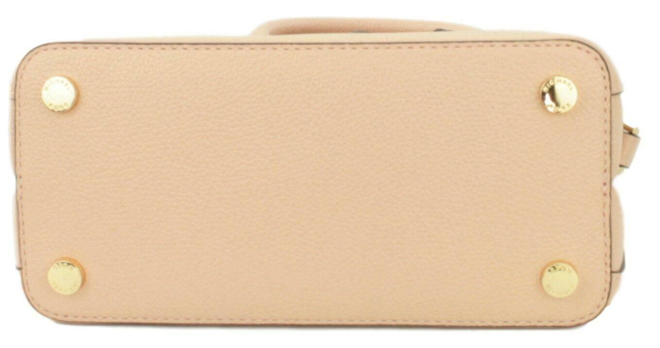Michael Kors Adele Pastel Pink Leather Shoulder Messenger Bag Handbag image 7