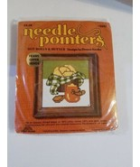 Sunset Designs Needle Pointers Crafts Yarn Stitchery Kit Hot Rolls & But... - $12.98