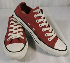 Nwob Converse All-Stars Red Low Tops New Shoes Men's 10 Womens 12 Vietnam - $35.58