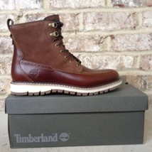 $200 TIMBERLAND MEN'S BRITTON HILL MOC TOE WATERPROOF BOOTS  A1253 SIZE:9 - $181.20 CAD