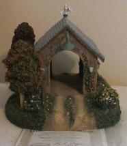 "Hawthorne Village Thomas Kinkade ""SEASIDE COVERED BRIDGE"" Lighted  COA  ... - $47.04"