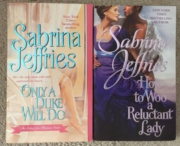 2 Sabrina Jeffries School For Heiresses Only a Duke, How to Woo a Reluct... - $7.56