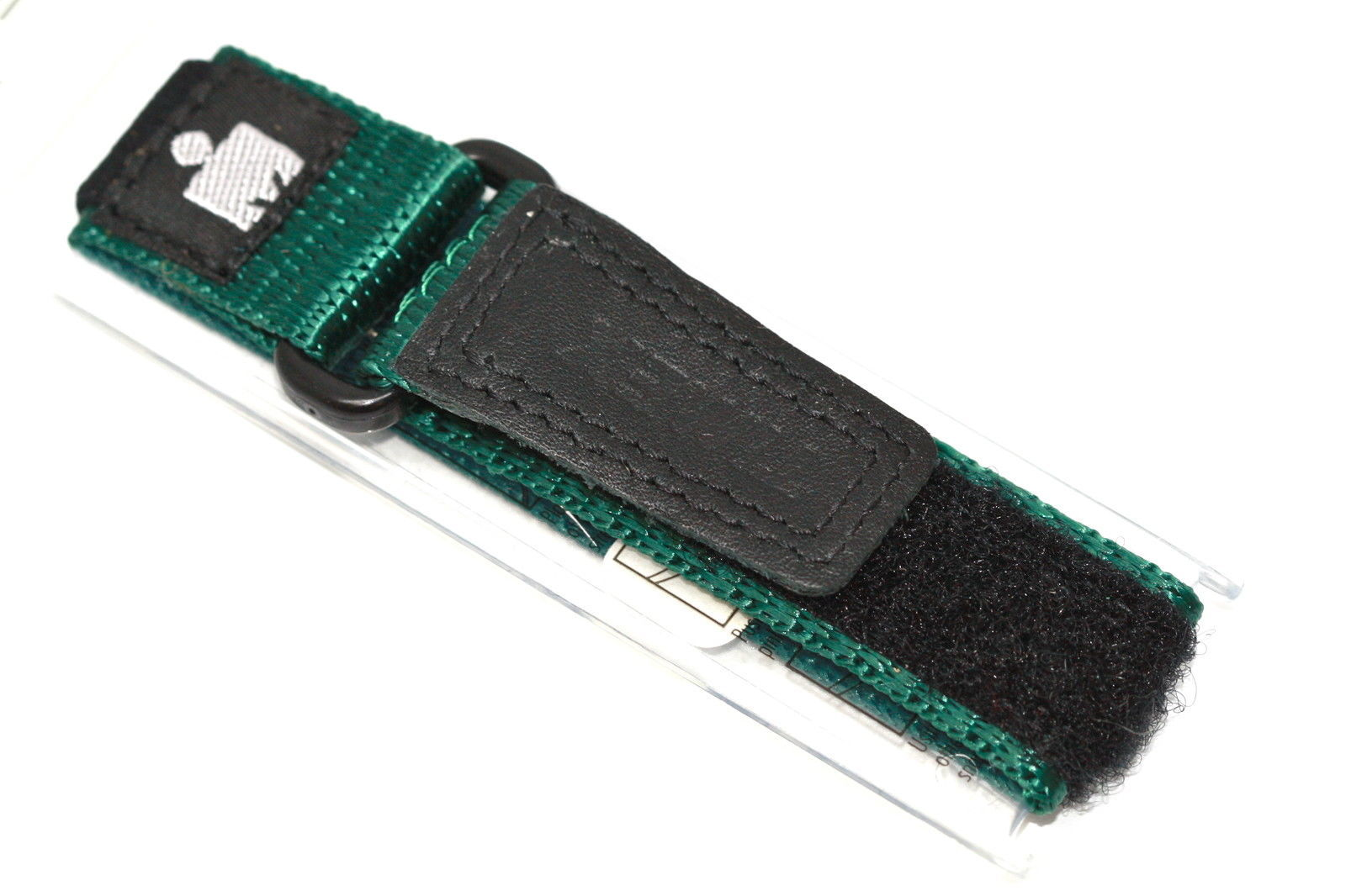 TIMEX 12-16MM GREEN BLACK HOOK & LOOP IRONMAN EXPEDITION FAST WRAP WATCH BAND - $9.89