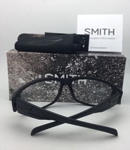 New SMITH OPTICS Sunglasses HIDEOUT TACTICAL ELITE Black w/ ANSI Z87.1 Clear