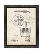 Apparatus For Extracting Honey From The Comb Patent Print Old Look with ... - $24.95+