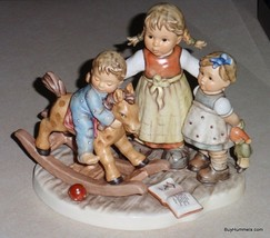 """""""Learning To Share"""" Goebel Hummel Figurine #2250 Moments In Time Series - MIB - $1,260.99"""