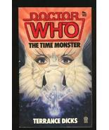 Doctor Who: The Time Monster (Doctor Who Library) Dicks, Terrance - $5.56