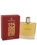 125 Years by Victorinox Eau De Toilette 3.4 oz, Men - $22.76
