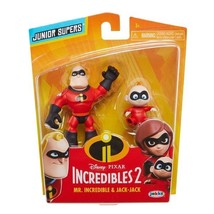 Disney Pixar Incredibles 2 Super Juniors Mr. Incredible and Jack-Jack 2 ... - $28.99