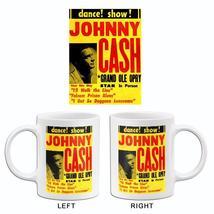 Johnny Cash - 1950's - Dance! Show! - Concert Poster Mug - $23.99+