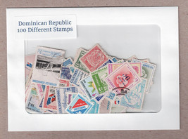 Dominican Republic 100 Different Postage Stamps