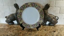 "Royal Doulton Cinnabar 11"" Dinner Plate - $14.84"