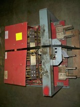 BLO32400  Red Back Plate Square D Switch Used E-OK - $22,000.00