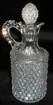 1890s EAPG US Glass HOBNAIL Cruet w/Stopper - $29.69