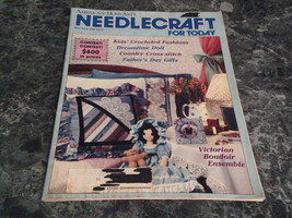 American Home Arts Needlecraft for Today Magazine May June 1988 Dreamtim... - $2.99