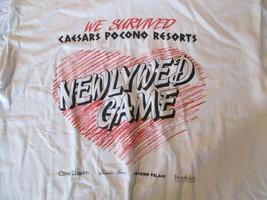 we survived Newlywed Game Caesars Pocono Resorts T Shirt Size XL - $5.99