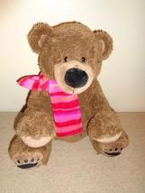 "Dan Dee Collector's Choice Bear 14"" Plush Stuffed Toy Animal Brown EUC - $4.00"