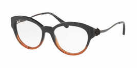 921cd5104448 Authentic Coach Eyeglasses HC6093 5490 Black Amber Glitter Frames 52mm RX- ABLE - $96.42