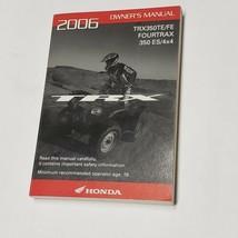 Honda OEM Owner's Manual 2006 TRX350TE/FE Fourtrax 350 ES/4x4   - $26.62