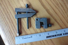 2 Clamps Vintage mini tool vise clams  - $25.00