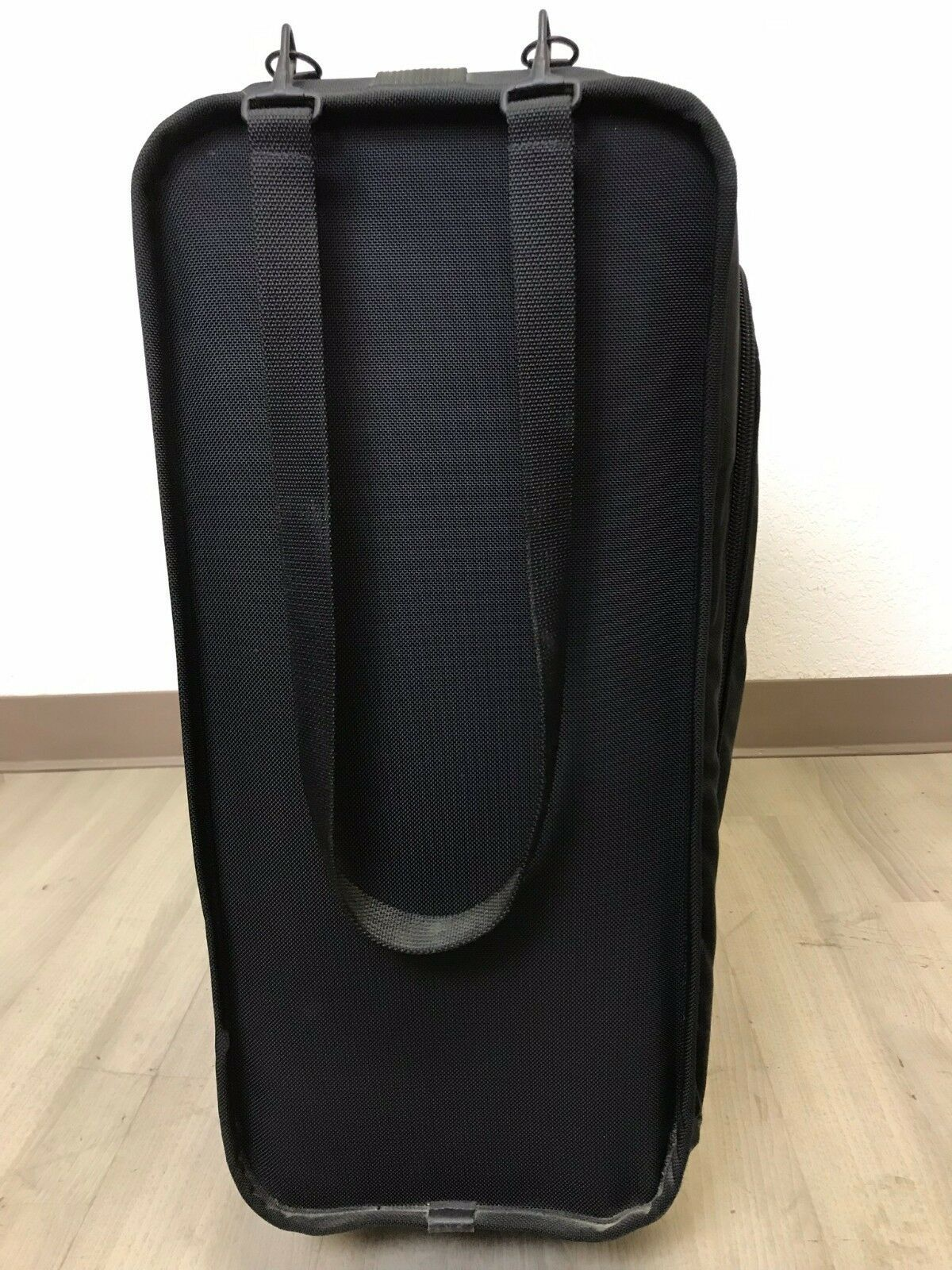 TUMI Suitcase Black Ballistic Nylon Wheeled Rolling Pull Handle Collapsible 31""
