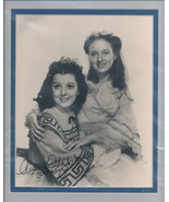 Ann Rutherford signed photo. Beautifully double matted. Gone With The Wi... - $29.95