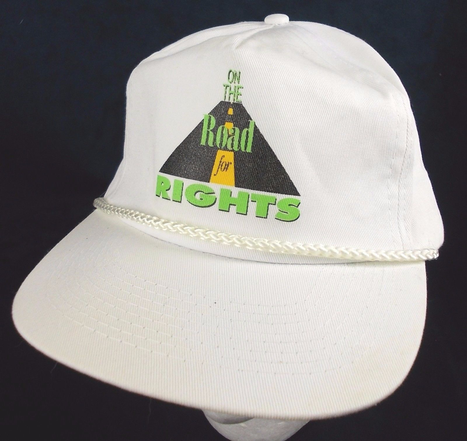 686738eb8ce39 On the Road for Rights Hat Ajustable White and 46 similar items