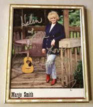 MARGO SMITH  FRAMED AUTOGRAPH PHOTO - $38.00