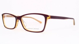 NEW PRODESIGN DENMARK 1759 1 c.3732 PLUM EYEGLASSES FRAME 55-15-140 MK358 Japan image 1
