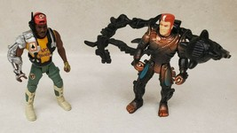 1990s Kenner Aliens Space Marine Atax & Sergeant Apone Lot of 2 Loose Figures - $19.60
