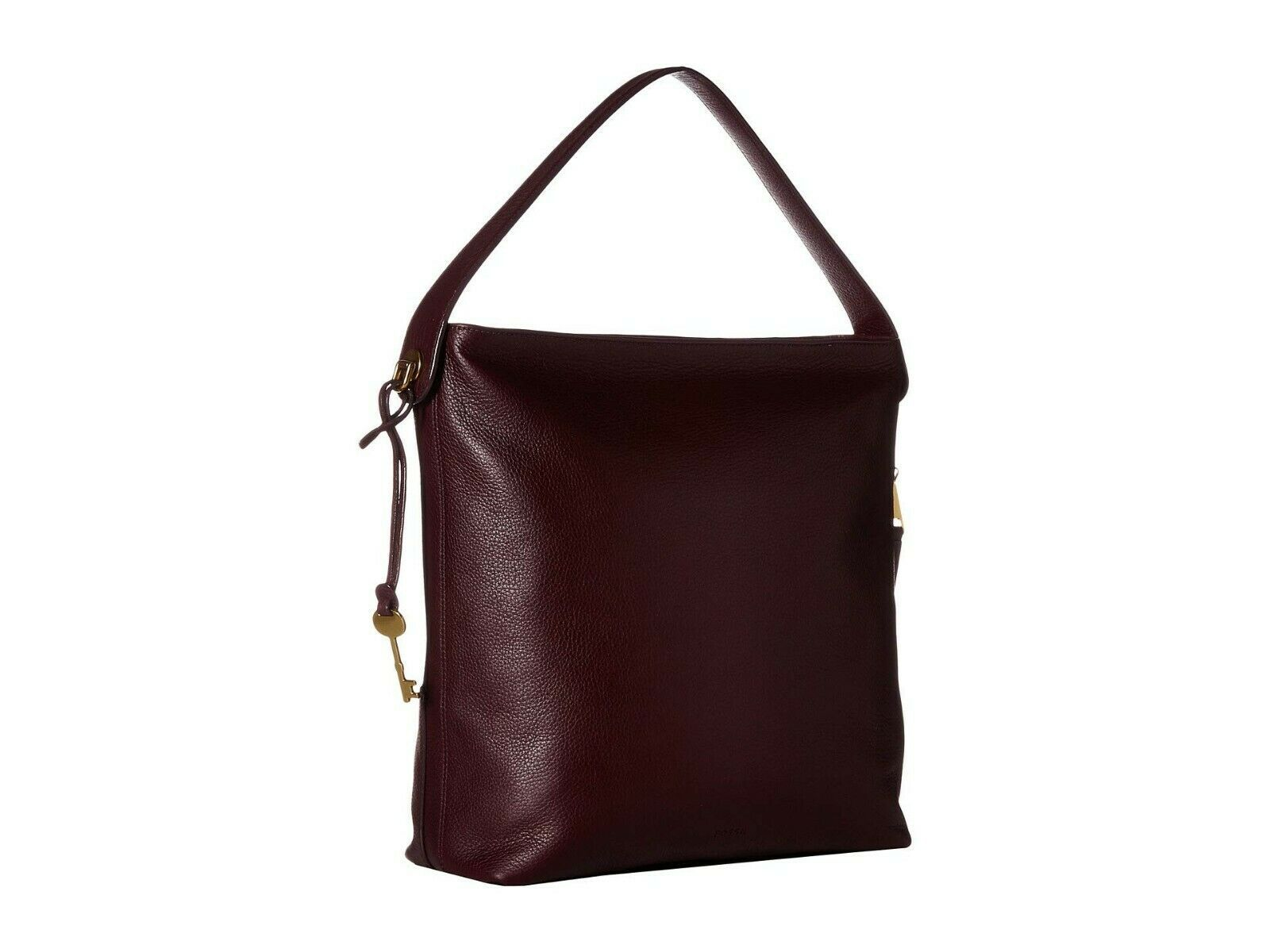 New Fossil Women's Maya Small Leather Hobo Bag Variety Colors image 11