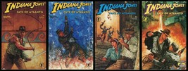 Indiana Jones and the Fate of Atlantis Comic Set 1-2-3-4 Lot Dave Dorman cvr art - $30.00
