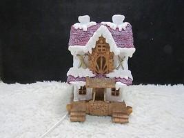 Hard Plastic/Resin Lighted Snow Sports Shop Collectible Christmas Village, NIB - $10.25